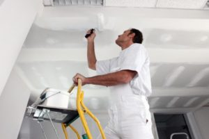 this image shows asbestos removal or asbestos ceiling removal in phoenix