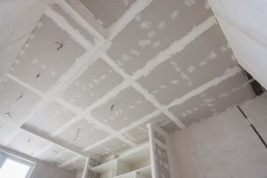 this image shows popcron ceiling removal