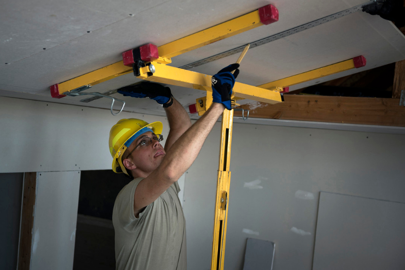 this is an image of popcorn ceiling removal in Glendale