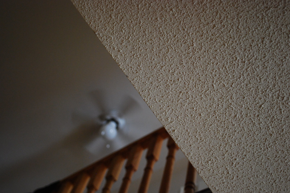 this is an image of popcorn ceiling removal in Tempe